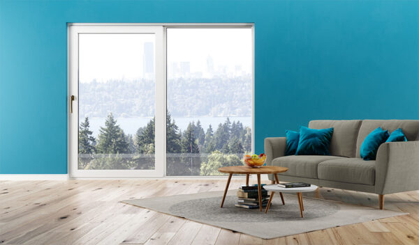 Estetyka koloru okna